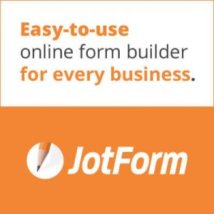 JotForm - Recommended by Sinium